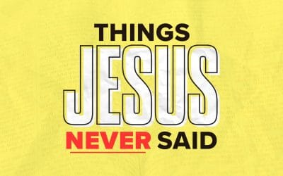 Things Jesus Never Said: You Don't Need to Forgive Them